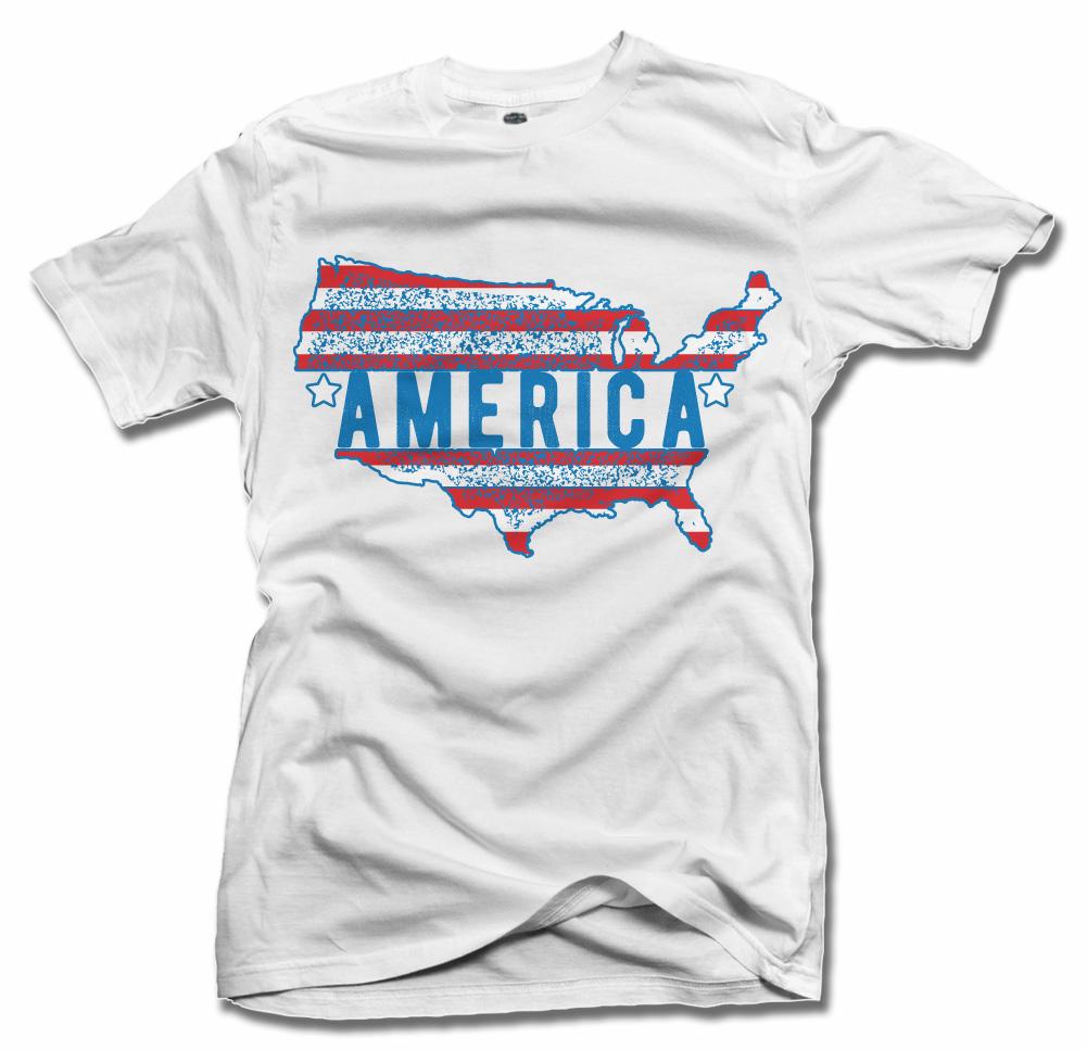 AMERICA FLAG Model