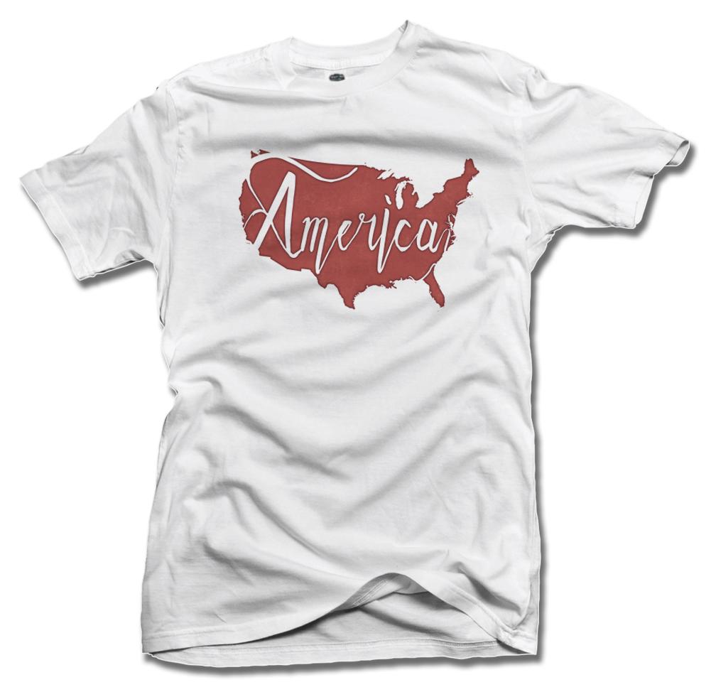 AMERICA RED INK PRINT Model