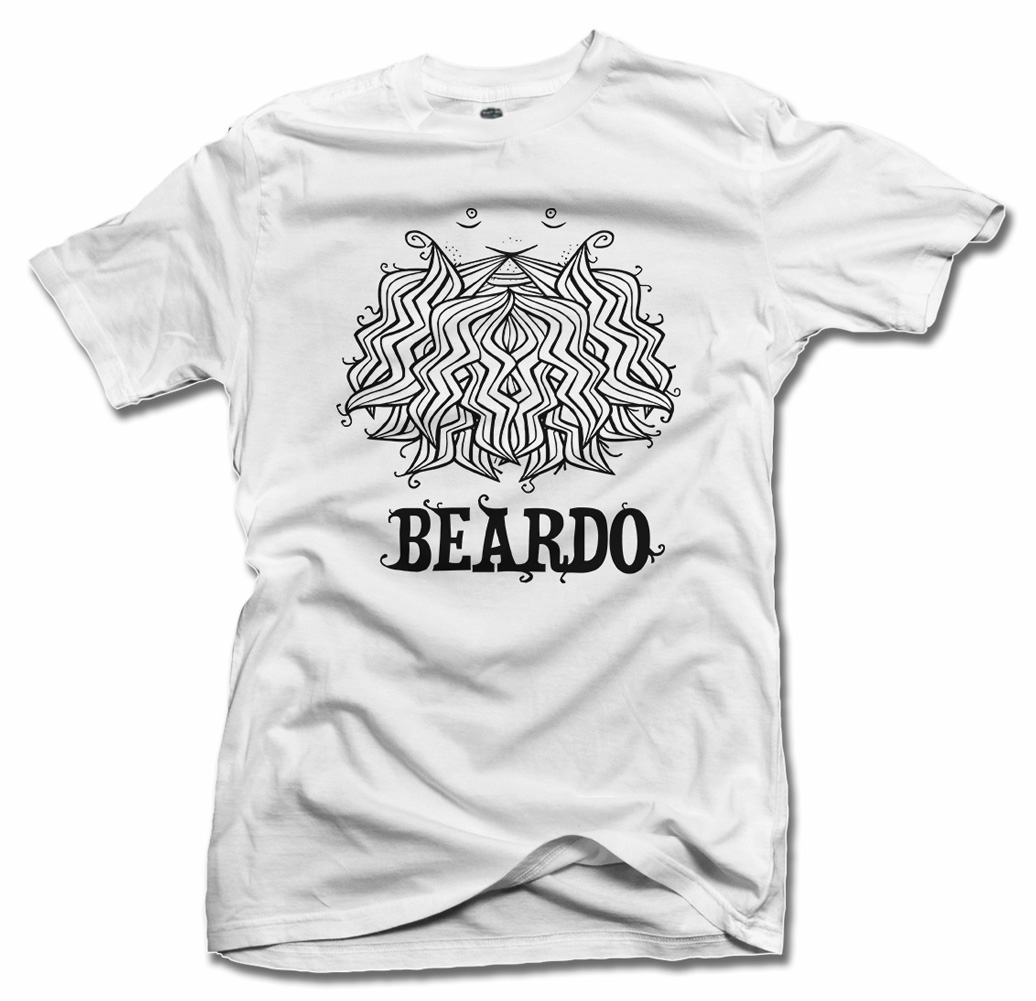 BEARDO 2 COOL BEARD T-SHIRT Model