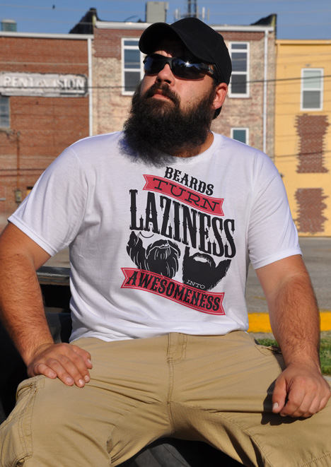 BEARDS TURN LAZINESS INTO AWESOMENESS Model