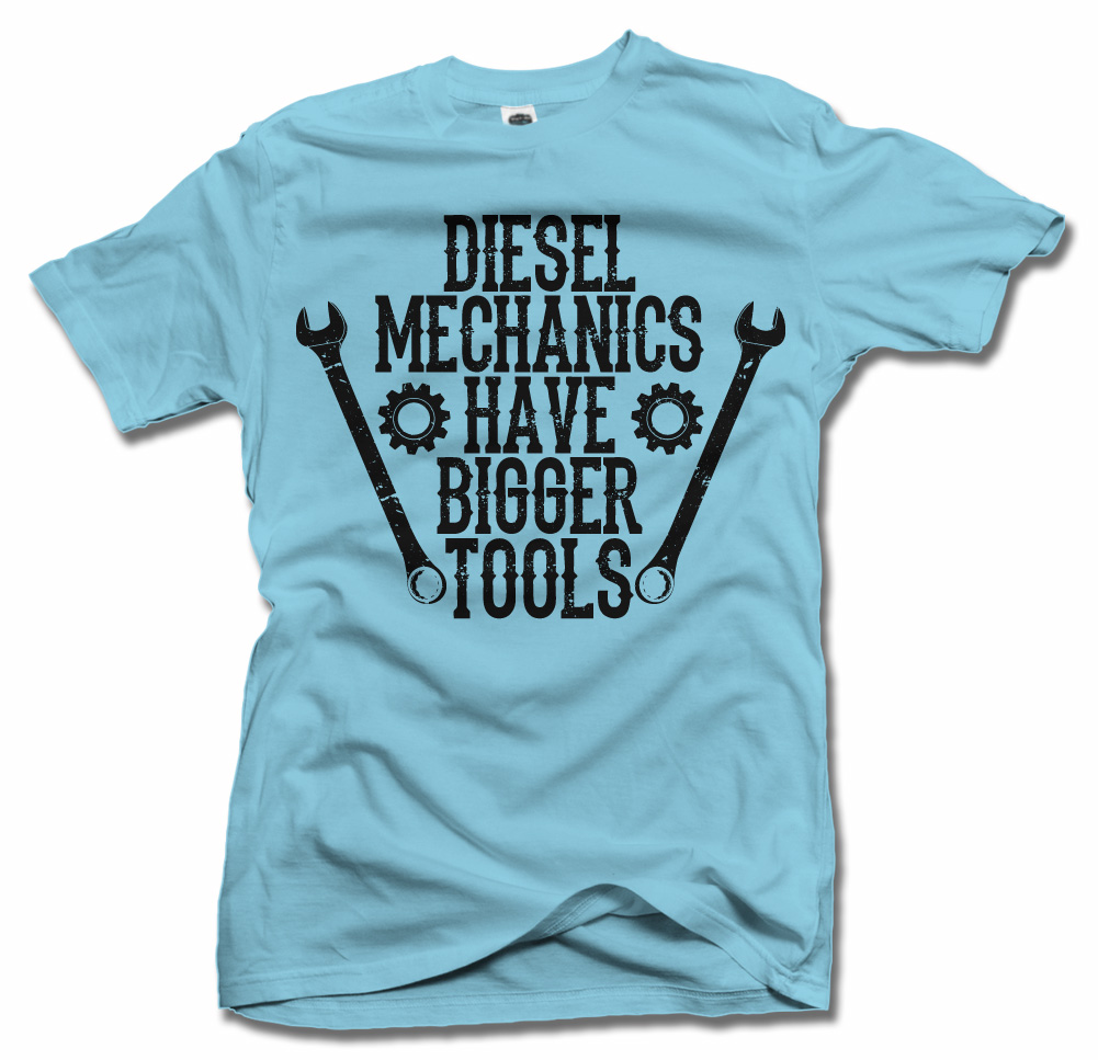 DIESEL MECHANICS HAVE BIGGER TOOLS ON LIGHTS Model