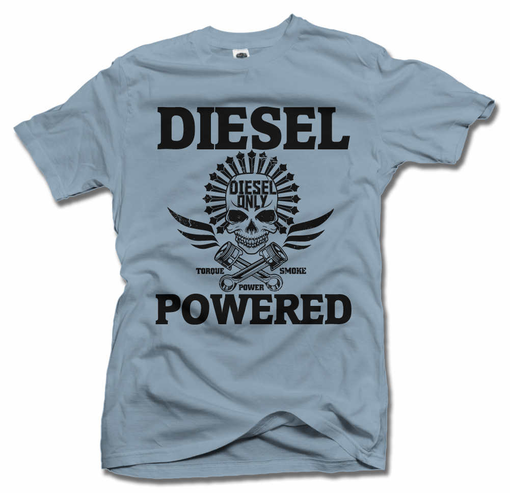 DIESEL POWERED SKULL Model