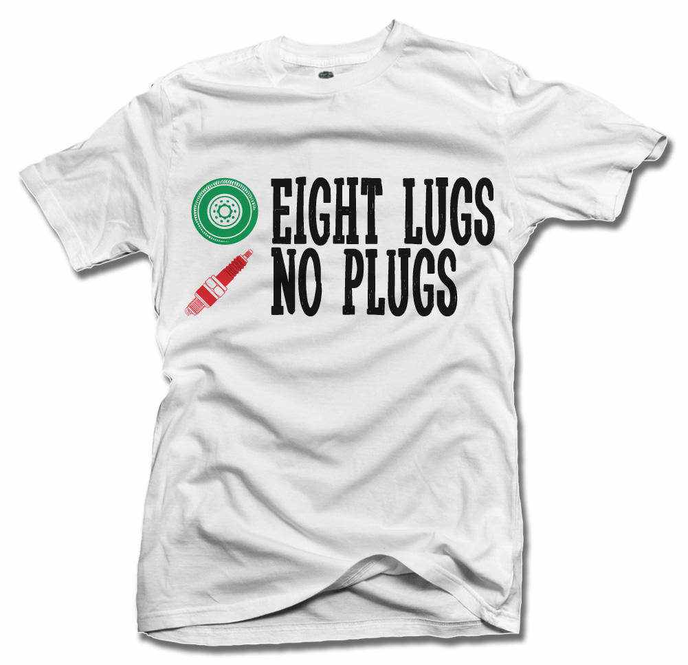 EIGHT LUGS NO PLUGS ON LIGHTS Model