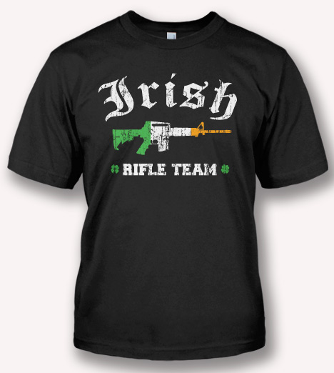 IRISH RIFLE TEAM Model