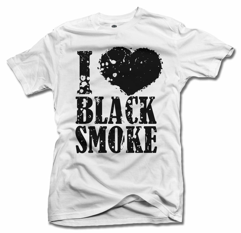 I HEART BLACK SMOKE Model