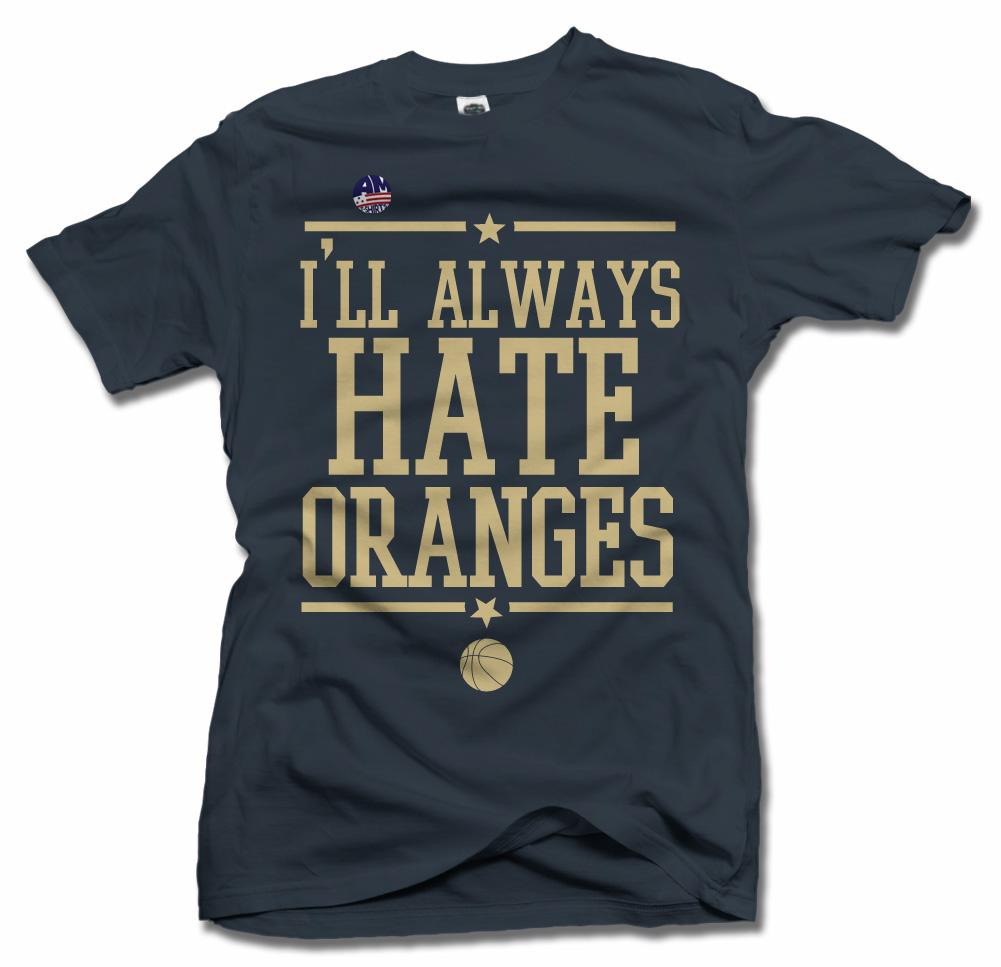 I'LL ALWAYS HATE ORANGES-- PITT BASKETBALL Model