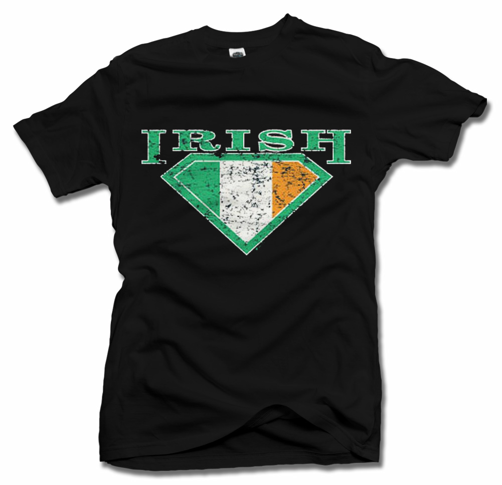 IRISH SHIELD 2 IRISH T-SHIRTS Model