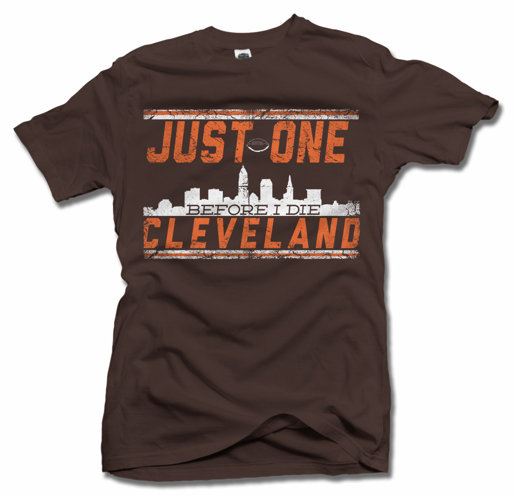 JUST ONE BEFORE I DIE CLEVELAND Model