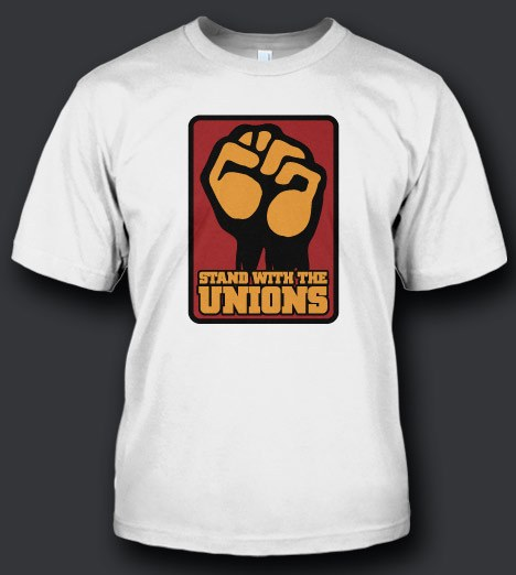STAND WITH THE UNIONS Model