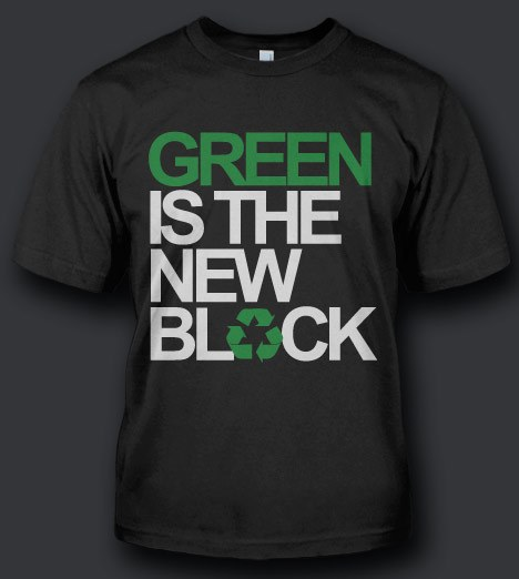 GREEN IS THE NEW BLACK Model