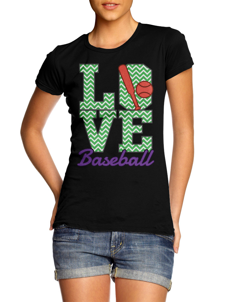 LOVE BASEBALL WOMENS Model