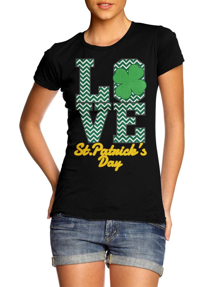 LOVE ST. PATRICK'S DAY Model