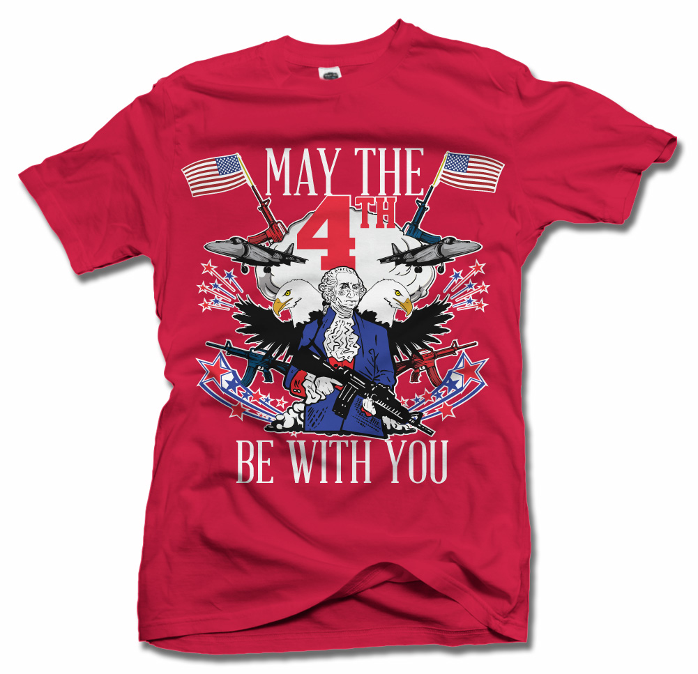 MAY THE 4TH BE WITH YOU MERICA ON DARKS Model