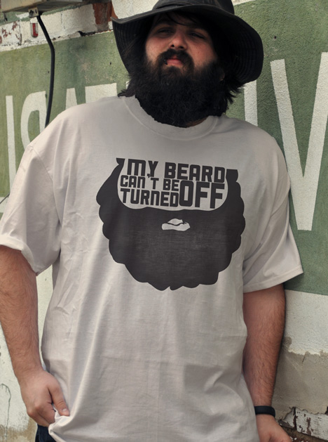 MY BEARD CAN'T BE TURNED OFF Model