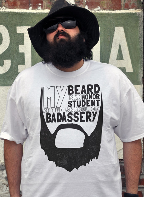 MY BEARD IS AN HONOR STUDENT AT THE SCHOOL OF BADASSERY Model