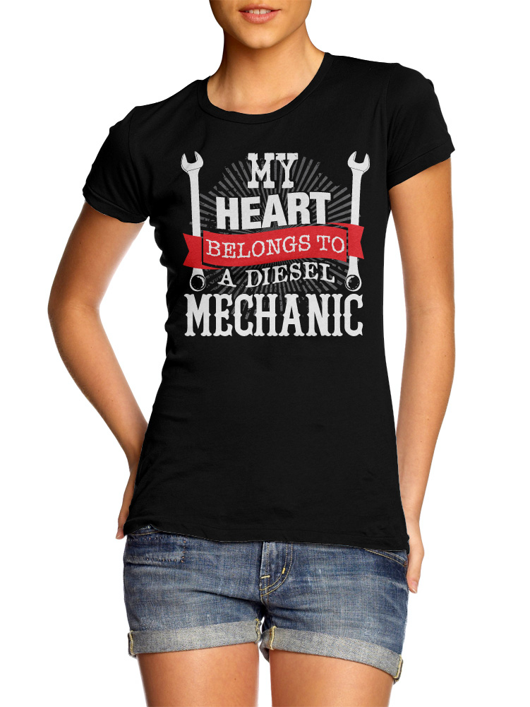MY HEART BELONGS TO A DIESEL MECHANIC ON DARKS Model