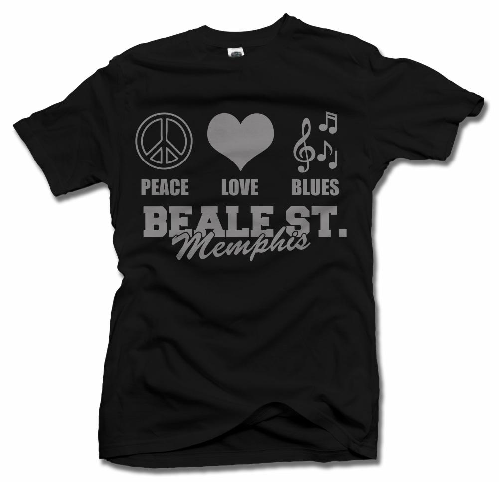 PEACE LOVE BLUES BEALE STREET Model