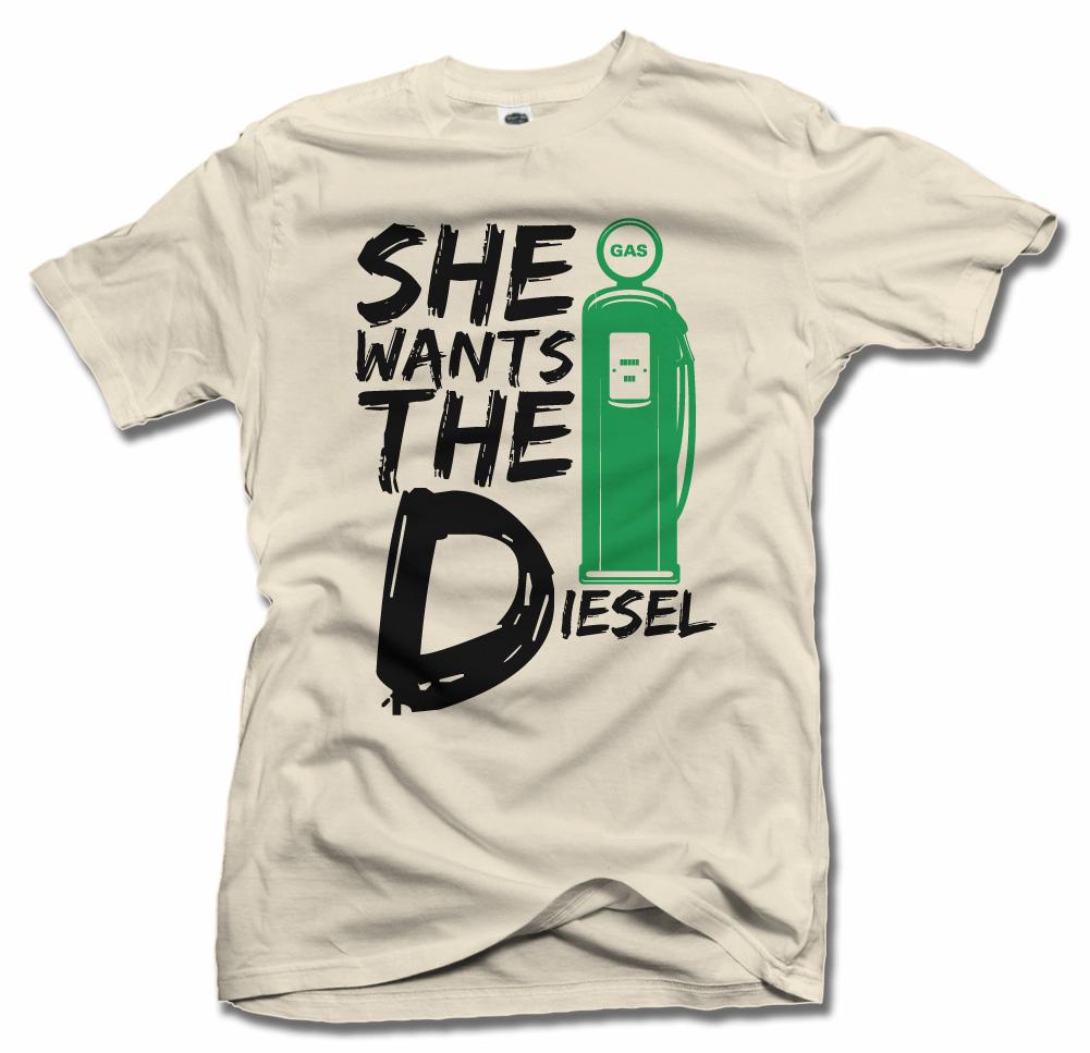 SHE WANTS THE DIESEL Model