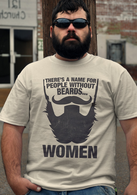 THERE'S A NAME FOR PEOPLE WITHOUT BEARDS... WOMEN Model
