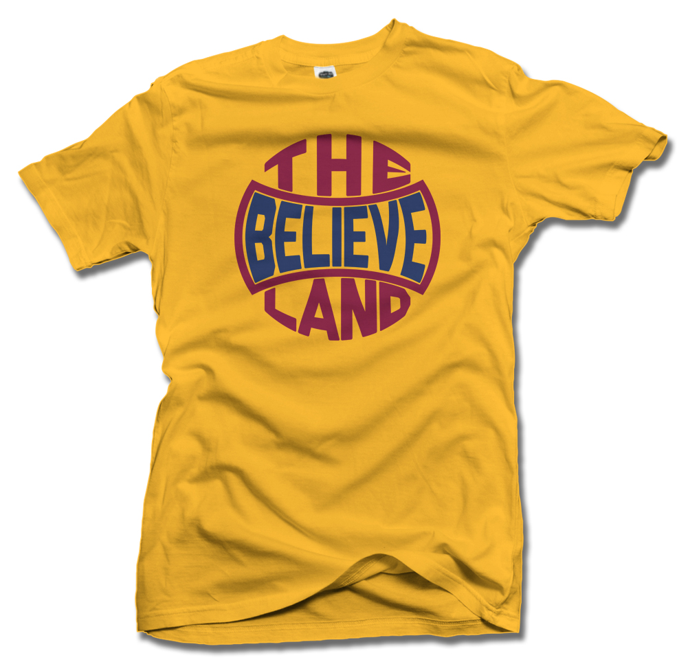 THE LAND BELIEVE CLEVELAND BASKETBALL Model
