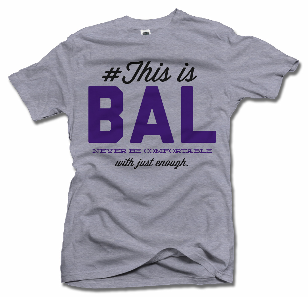 THIS IS BALTIMORE T-SHIRT Model