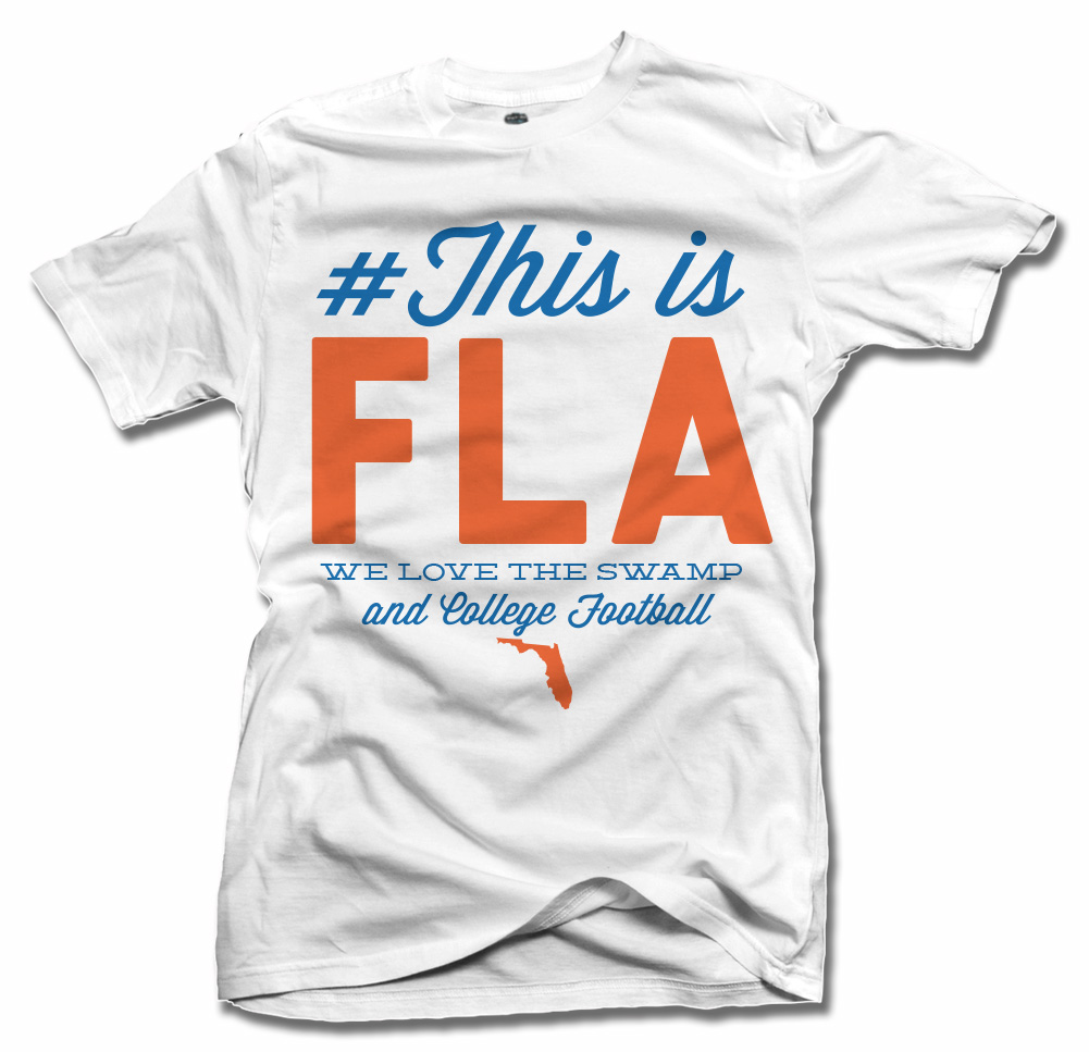 THIS IS FLORIDA T-SHIRT Model