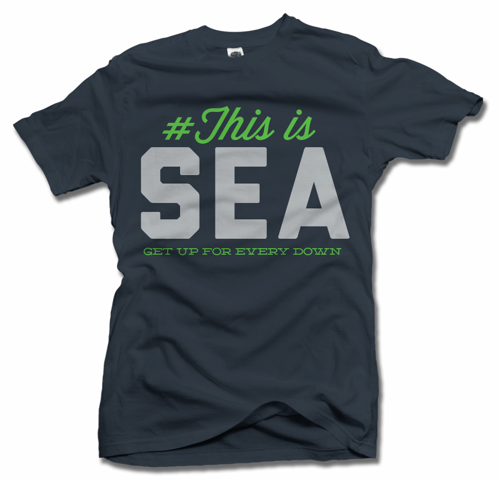 THIS IS SEATTLE T-SHIRT Model