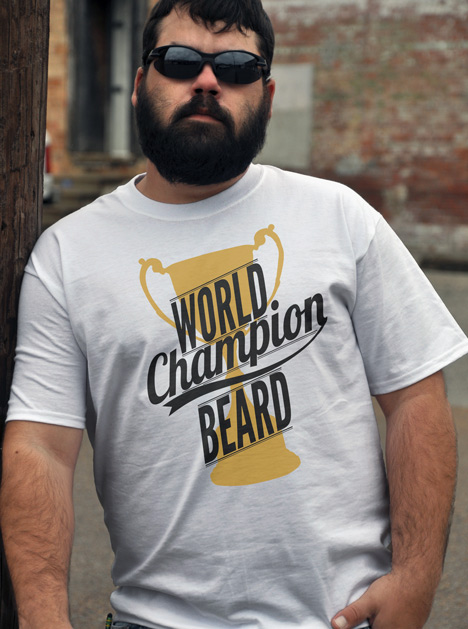 1119981c26a0 WORLD CHAMPION BEARD | FUNNY MUSTACHE AND BEARD T-SHIRTS FOR REAL FACE  FARMERS