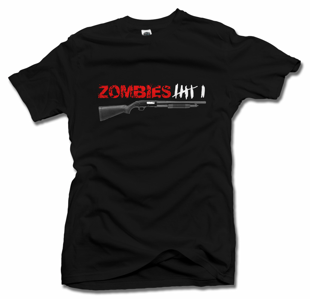ZOMBIES IIIIII TALLY T-SHIRT Model