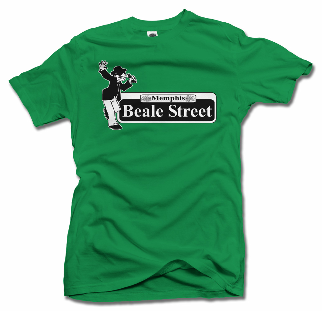 BEALE STREET DANCING MAN BEALE STREET T-SHIRT Model
