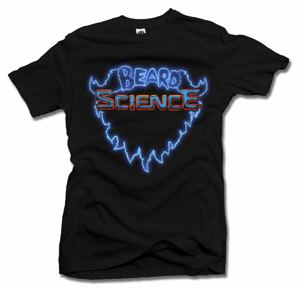 BEARD SCIENCE COOL BEARD T-SHIRT Model