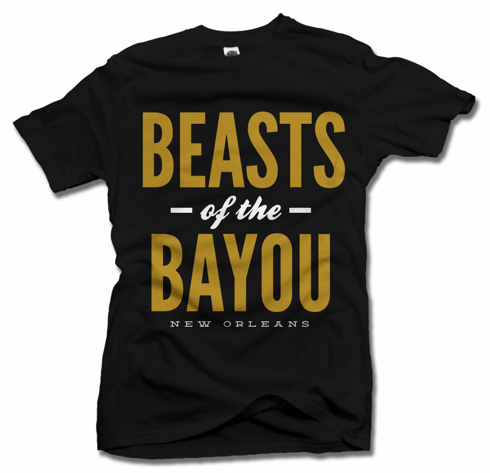 BEASTS OF THE BAYOU NEW ORLEANS FOOTBALL Model