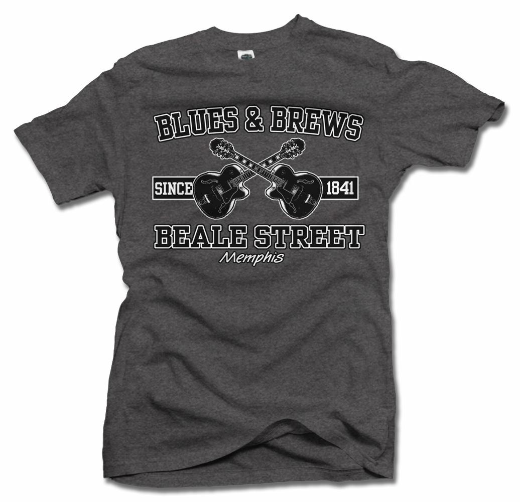 BLUES & BREWS BEALE STREET T-SHIRT Model