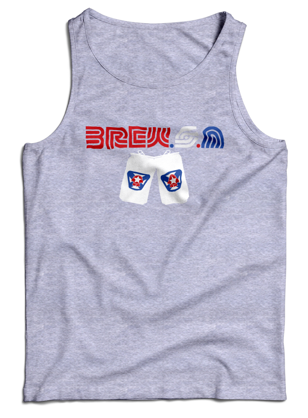 Brew S.A. | Cool Patriotic Drinking Shirt Model