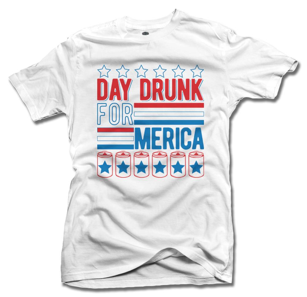 DAY DRUNK FOR MERICA ON LIGHTS Model