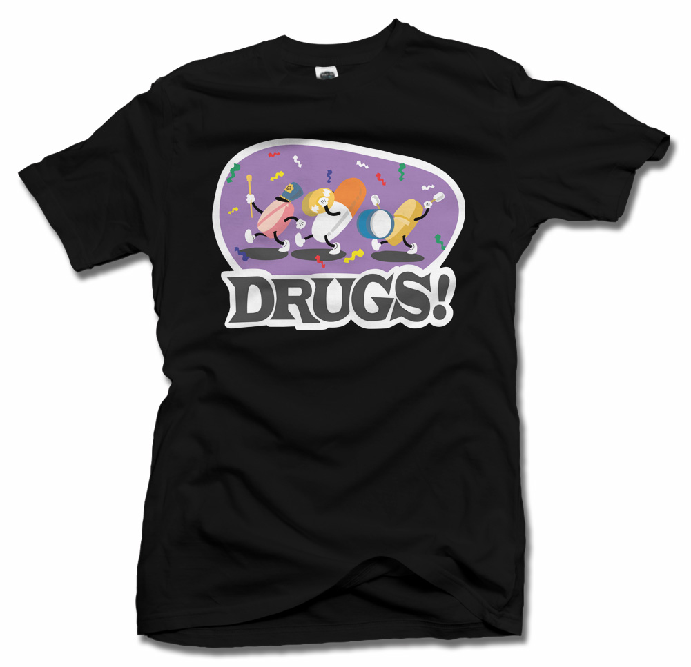 DRUGS PARADE T-SHIRT Model