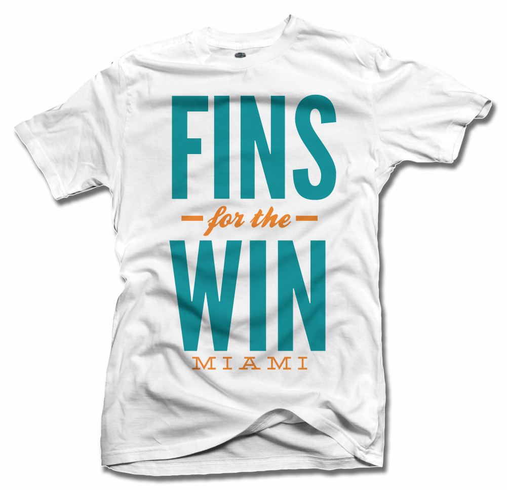 FINS FOR THE WIN MIAMI FOOTBALL Model