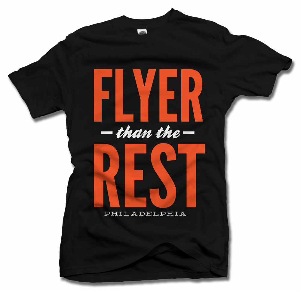 FLYER THAN THE REST PHILADELPHIA HOCKEY Model