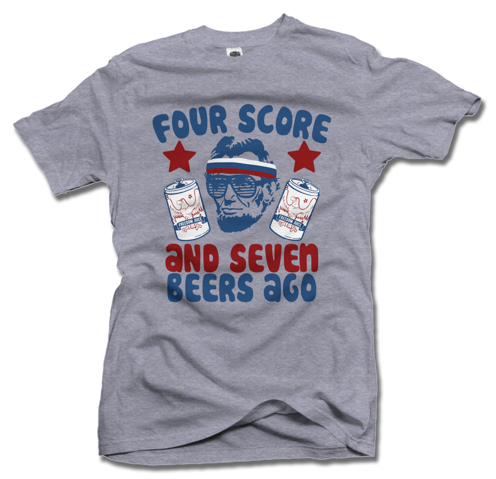 FOUR SCORE AND SEVEN BEERS AGO Model