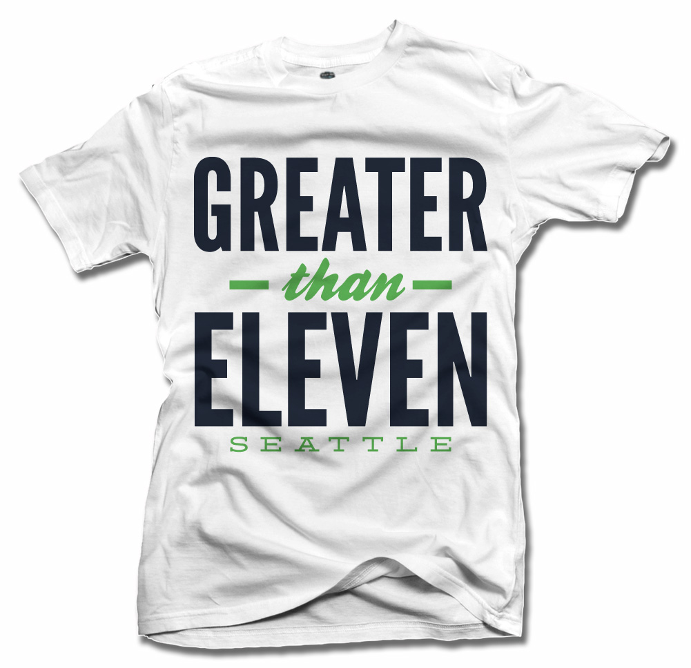 GREATER THAN ELEVEN SEATTLE FOOTBALL Model