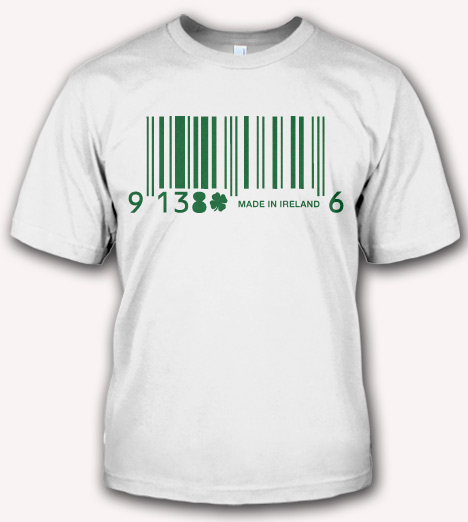 MADE IN IRELAND BARCODE Model