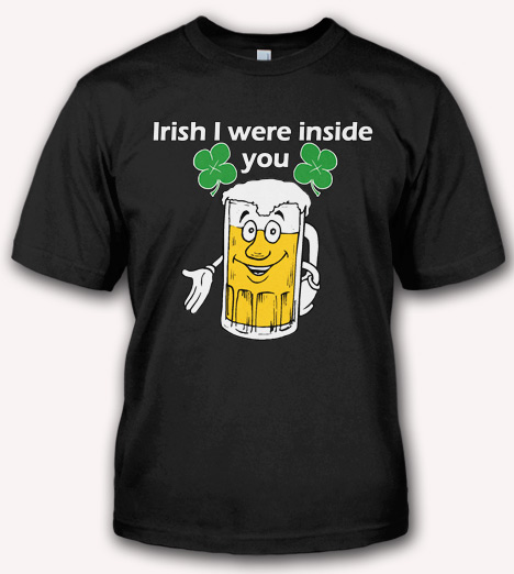 IRISH I WERE INSIDE YOU Model