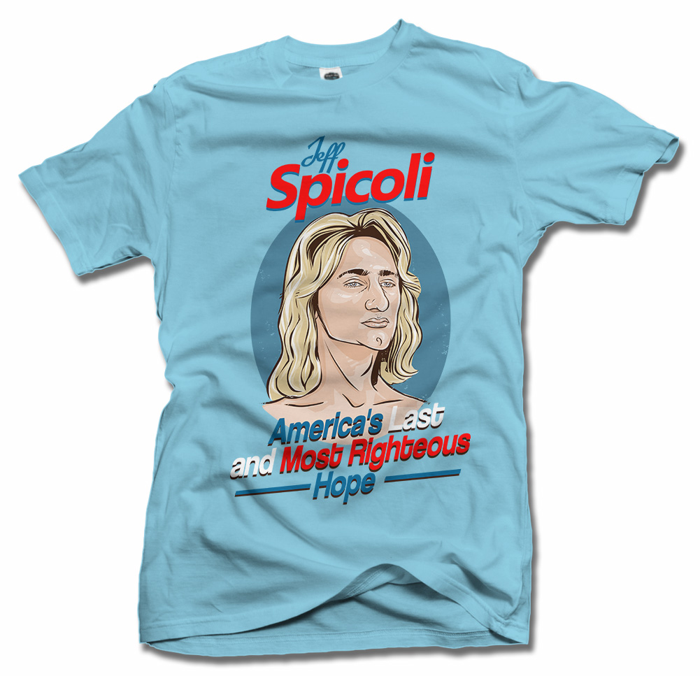 JEFF SPICOLI AMERICA'S LAST AND MOST RIGHTEOUS HOPE Model