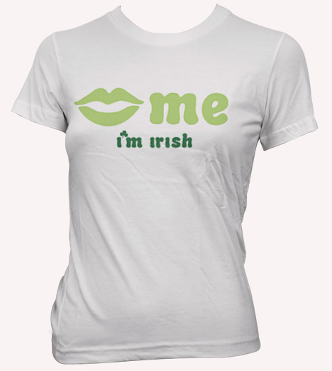 KISS ME I'M IRISH Model