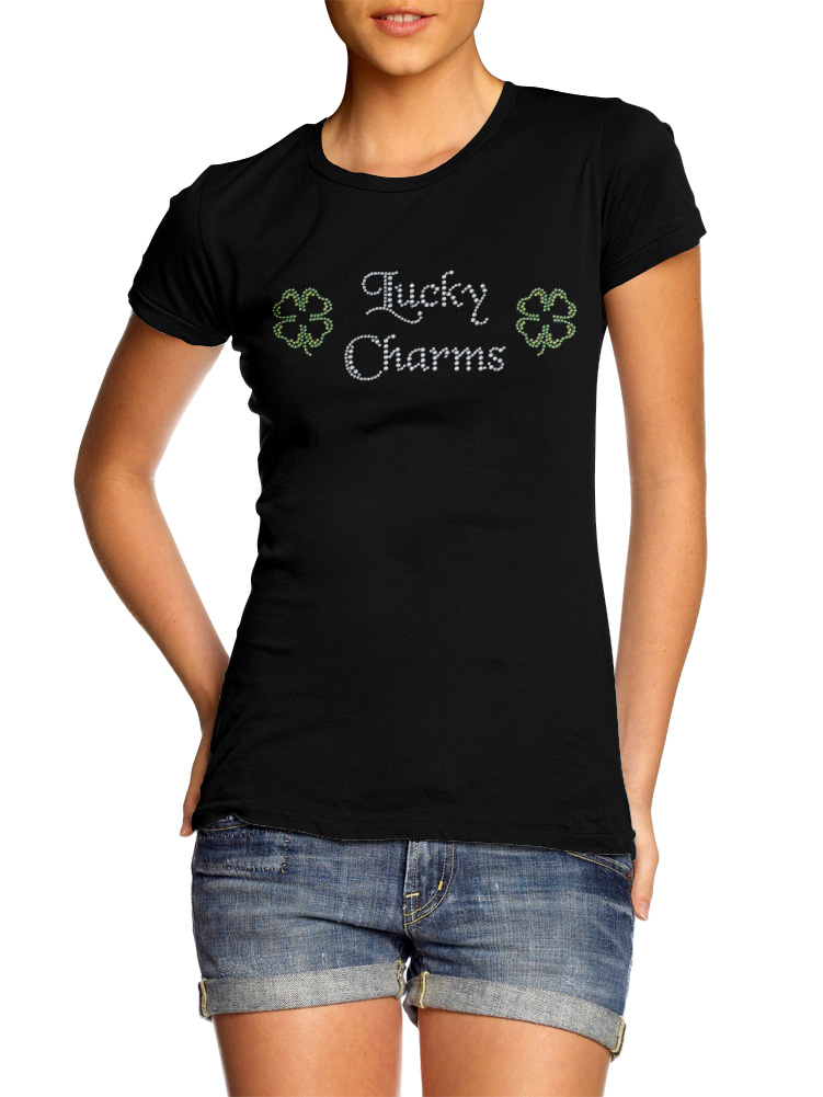 LUCKY CHARMS RHINESTONE IRISH Model