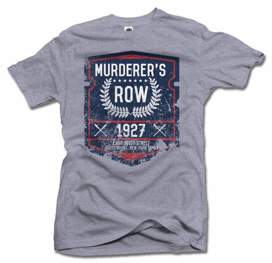MURDERER'S ROW COOL NEW YORK BASEBALL T-SHIRT Model