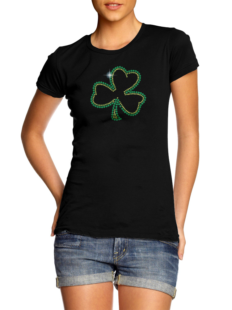 SHAMROCK RHINESTONE IRISH Model