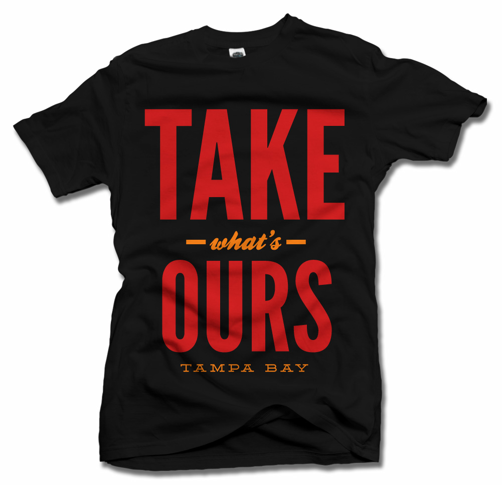 TAKE WHAT'S OURS TAMPA BAY FOOTBALL Model