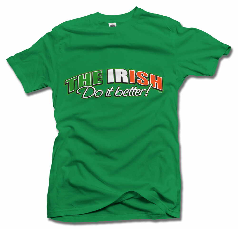THE IRISH DO IT BETTER Model