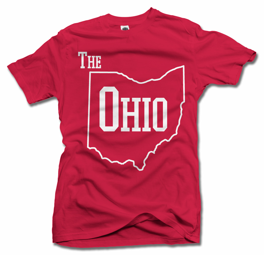 THE OHIO COOL STATE SHIRT Model